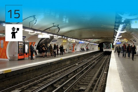 Métro de Paris, Paris, France