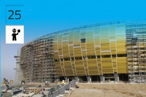 Stadium Euro 2012 Alpine Consortium, Gdańsk, Poland
